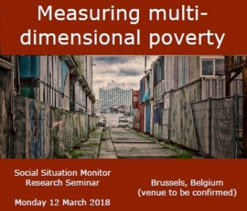 EXCEPT shares results at the European Commission SSM seminar on multidimensional poverty